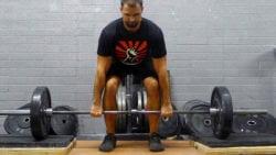 block pulls - exercises to improve deadlift strength