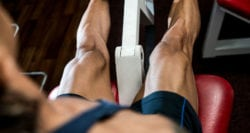 Get Rid of Skinny Legs - Leg Extension Muscles