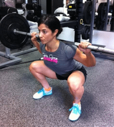 Get Rid of Skinny Legs - muscular squat legs