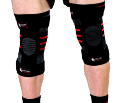 Get Rid of Skinny Legs - Dark Iron Fitness Knee Sleeves