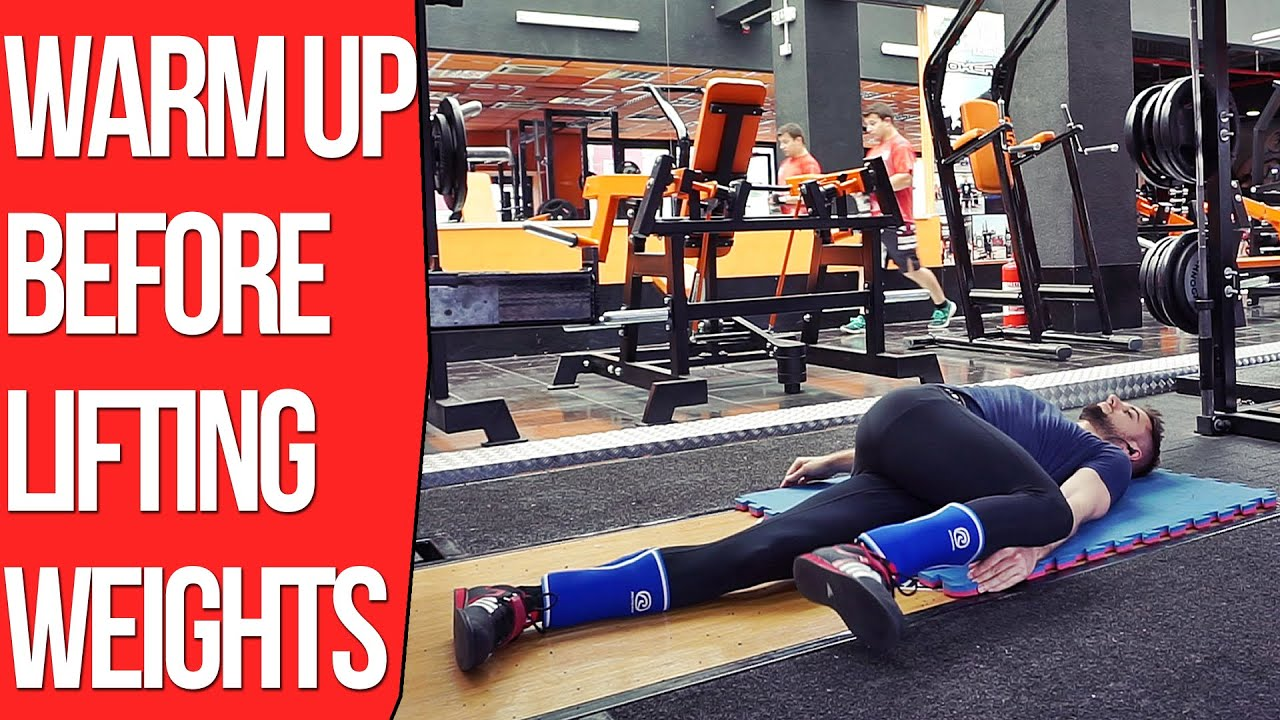Should You Stretch Before and After Weightlifting? - Warming Up Before Lifting