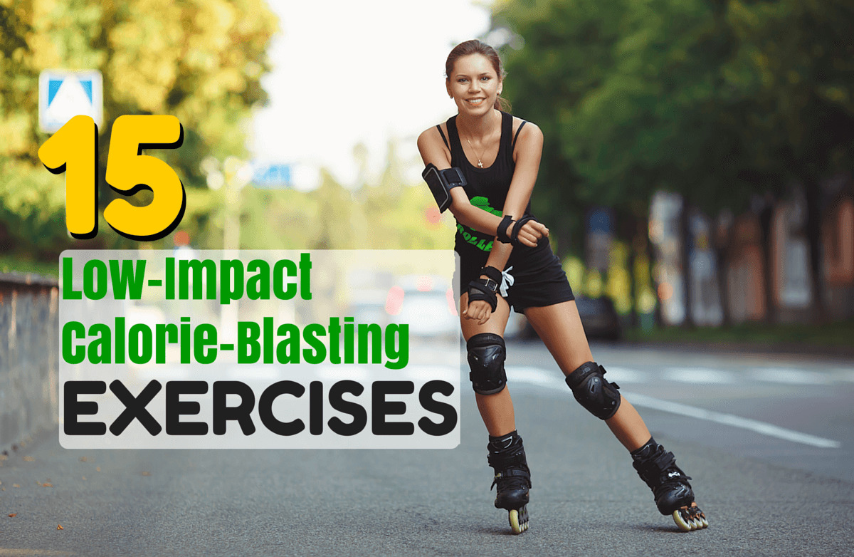 Low Impact Exercise Benefits | Safe & Smart Fitness - Girl Rollerblading