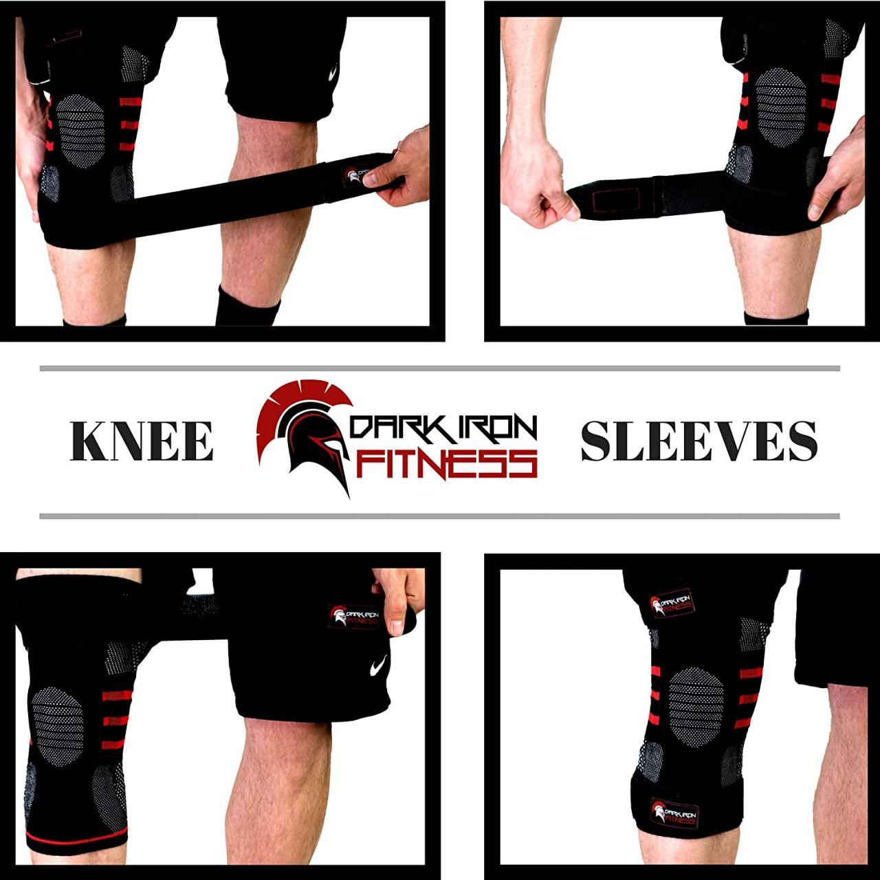 Best Knee Sleeves for CrossFit - Dark Iron Fitness Knee Sleeves