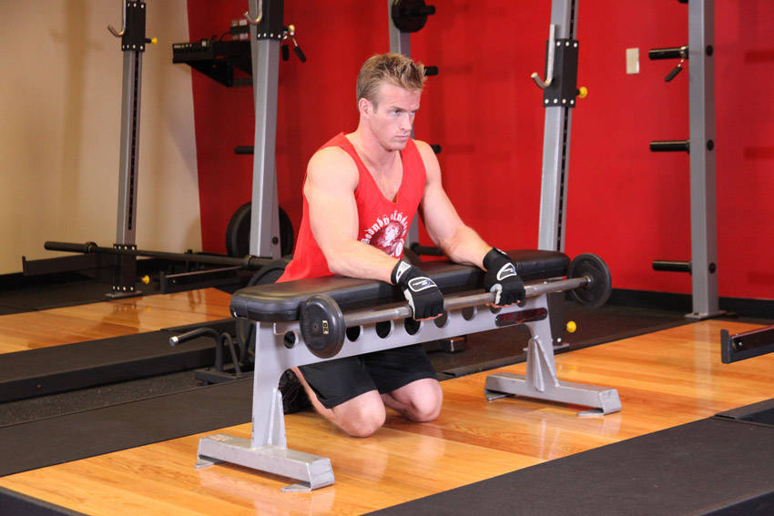 What are the Benefits of Wrist Curls? - Lowering bar for Reverse Wrist Curl