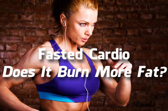 Fasted Cardio Results - Woman running with headphones