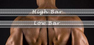 Bar Positioning